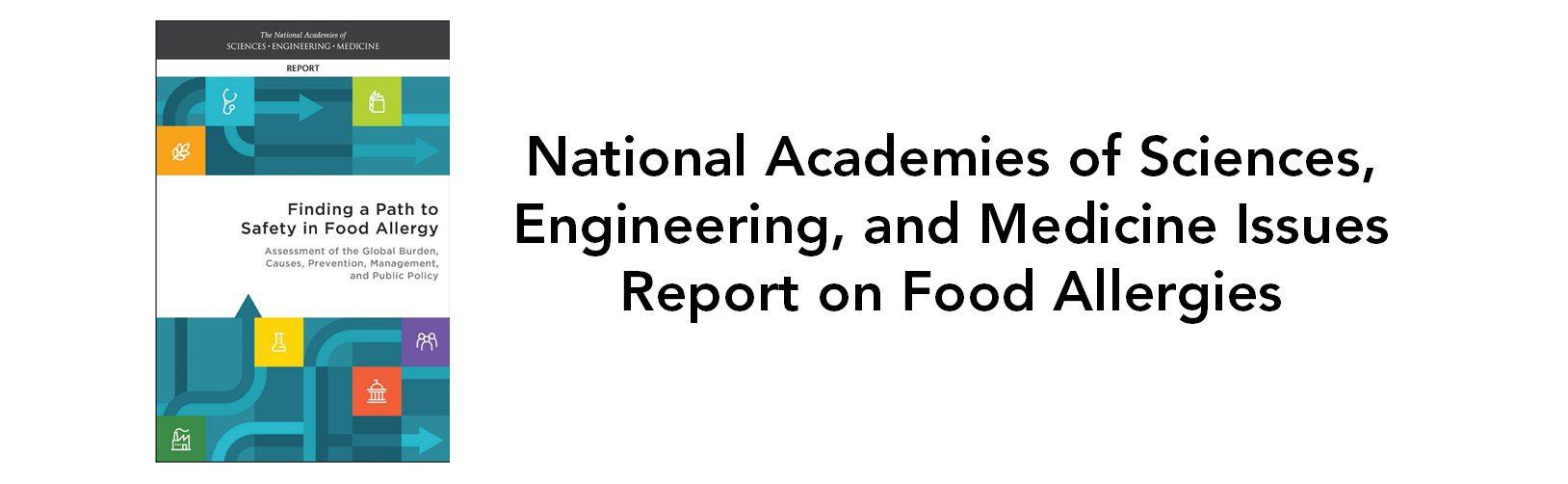 food allergies report